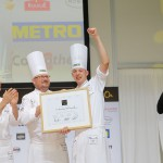 Marvin Böhm gewinnt Bocuse d'Or Germany 2016 / Stuttgart /  22.02.2016 / Foto: Bocuse d'Or Germany/Jörg Eberl